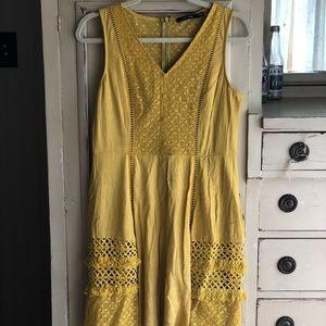 ModCloth Mustard Festival Dress - worn once!